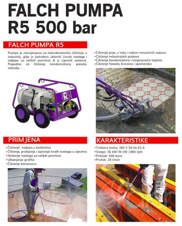 III. FALCH PUMPA R5 500 BAR